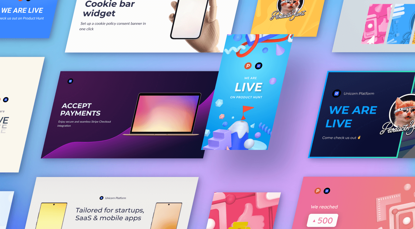 Product Hunt launch templates