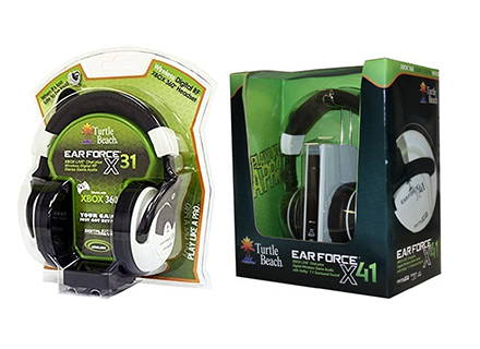 2009-Turtle Beach launches the first RF wireless gaming headsets, the X31 and X41