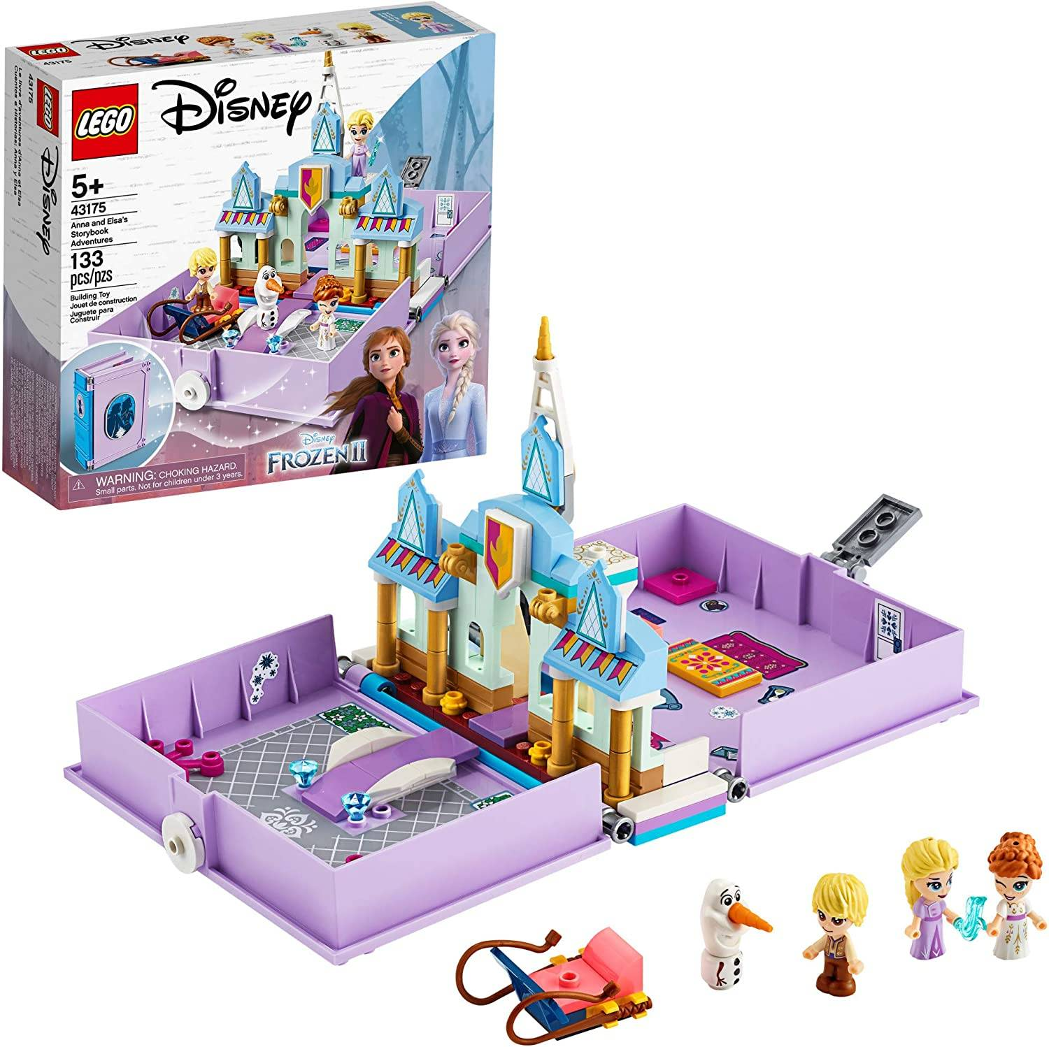 The Disney Anna and Elsa's Storybook Adventures set