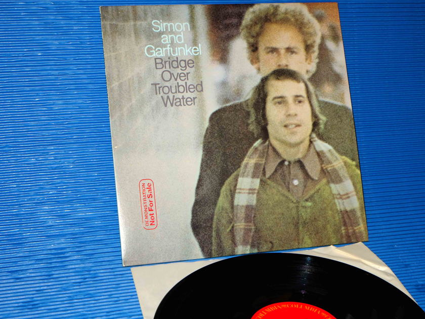 "SIMON AND GARFUNKEL   - ""Bridge Over Troubled Water"" -  Columbia 1972 'Promo' Side 1 Hot Stamper"