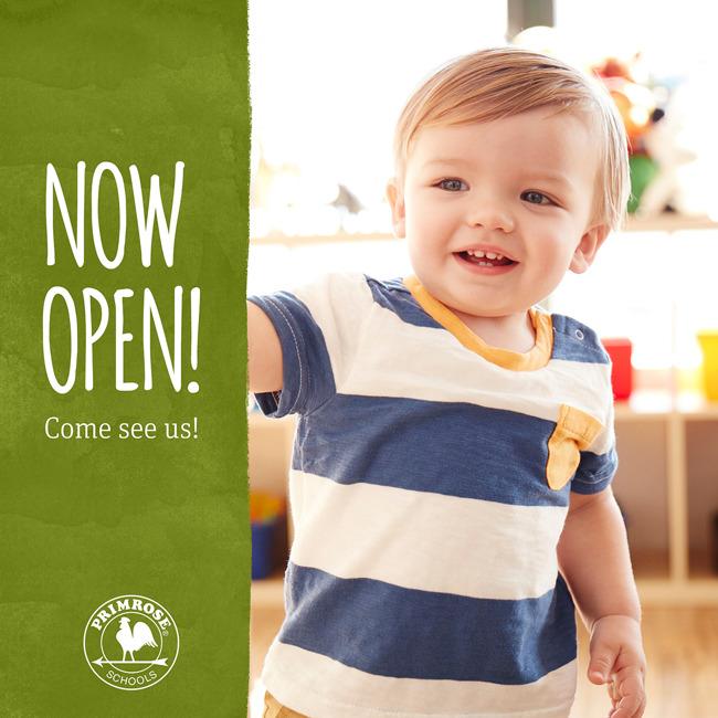 now open, preschool, hughes landing, enrolling