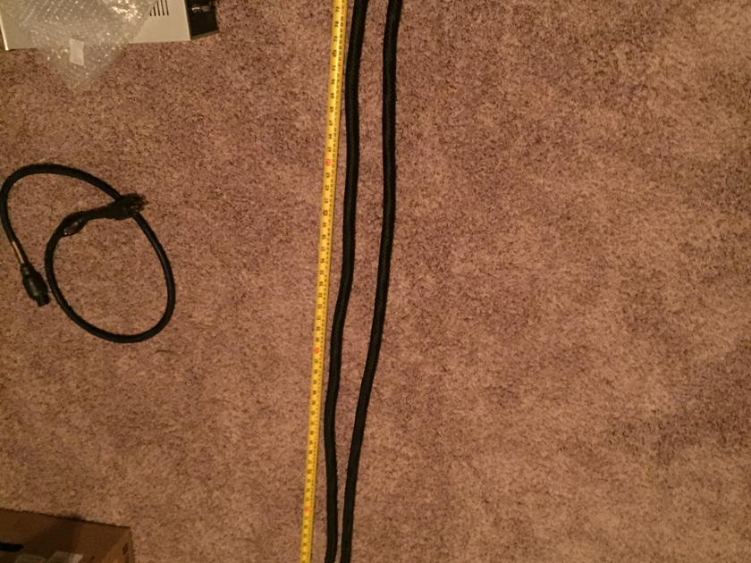 Pangea Audio AC-9 Mk 1 2 Meter Power cords. 2 cables available.