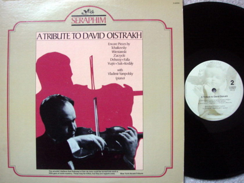 EMI Angel Seraphim / OISTRAKH, - Tribute to David Oistrakh, MINT!