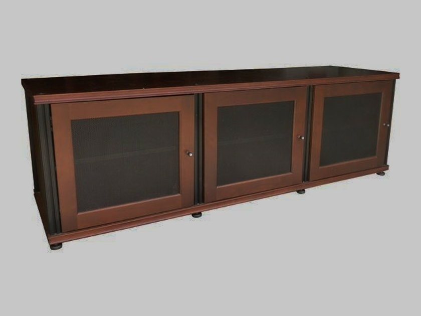 Salamander Designs Synergy Triple 237 TV Stand A/V Cabinet MINT