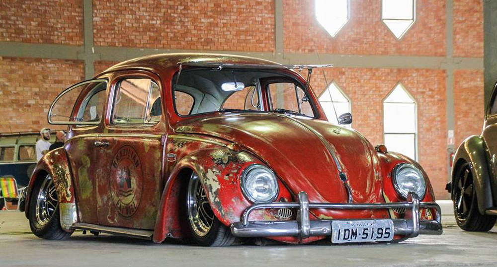 volkswagen beetle on klassik rader falcon