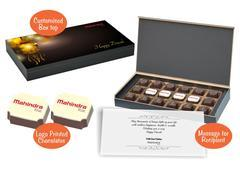 Chocolates - Diwali gift for employees (18 Chocolates - 100 Box)