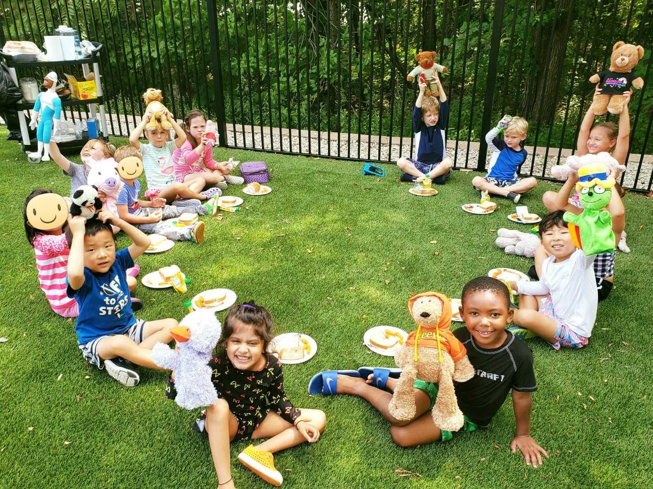 Bring your Teddy Bear to school for a picnic.