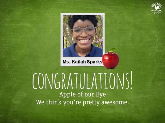 Ms. Kailah Sparks
