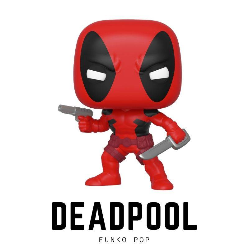 Bobble head, bobble-heads, Comics, deadpool, funko, marvel, Marvel Comics, movies, Ryan Reynolds, Superhero, under-1000 , pop