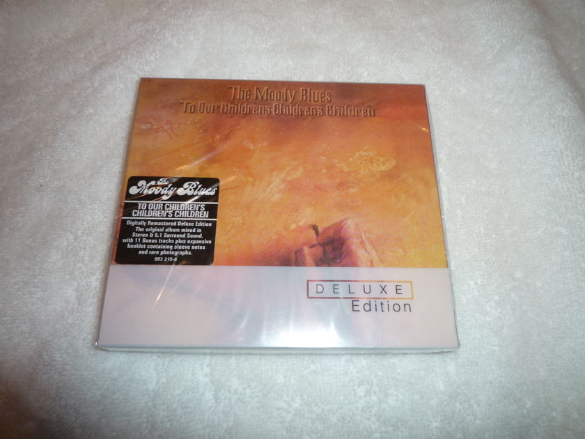 Moody Blues SACD - To our Children's Children's Children SACD surround, Stereo, CD
