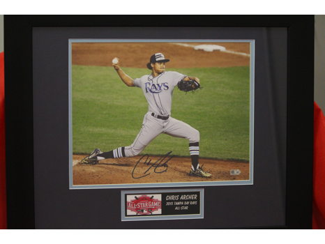 Chris Archer Autographed Photograph
