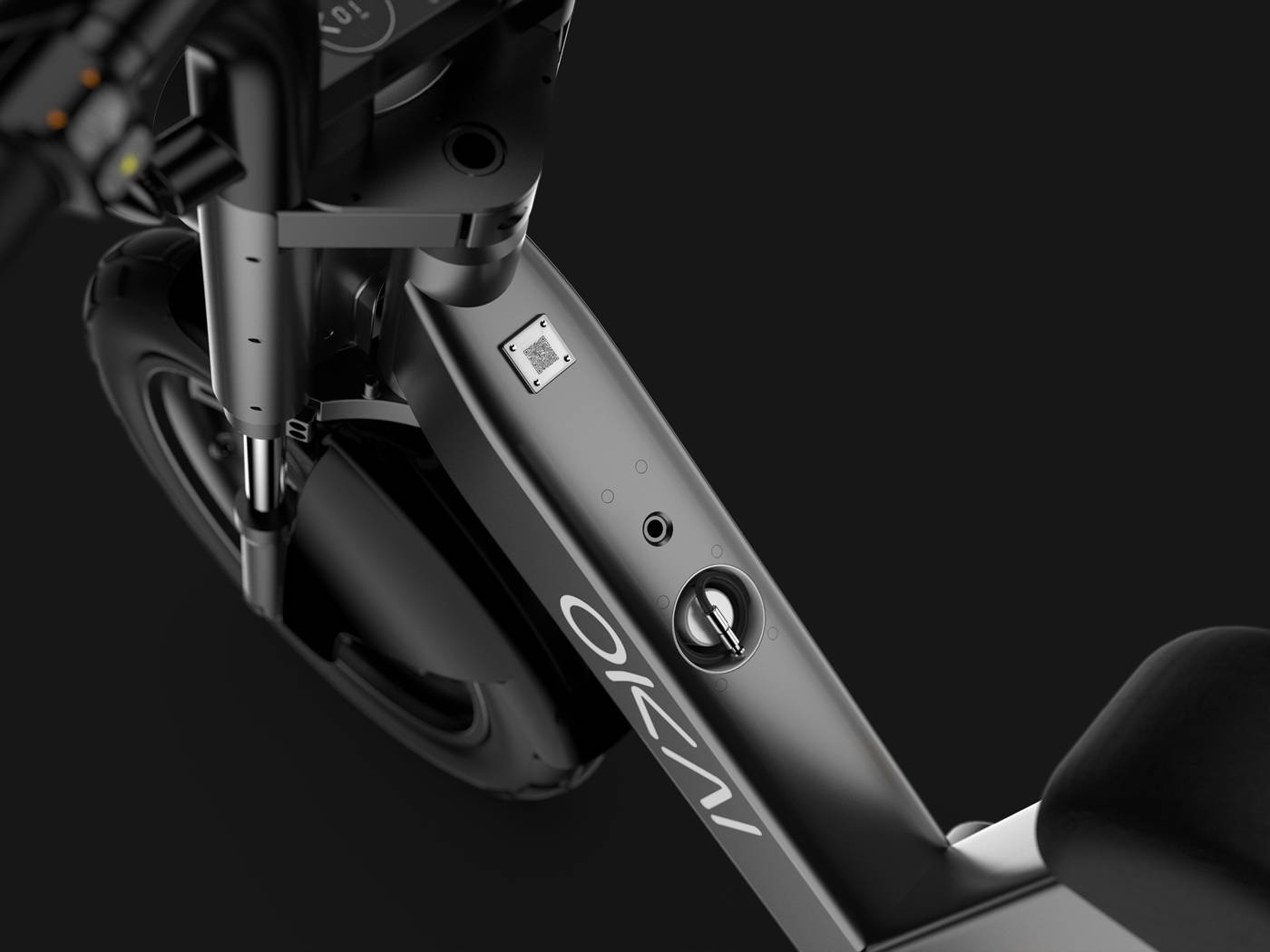Okai Electric Scooter & Electric Bike Manufacturer-EB200 Electric Bike Lock