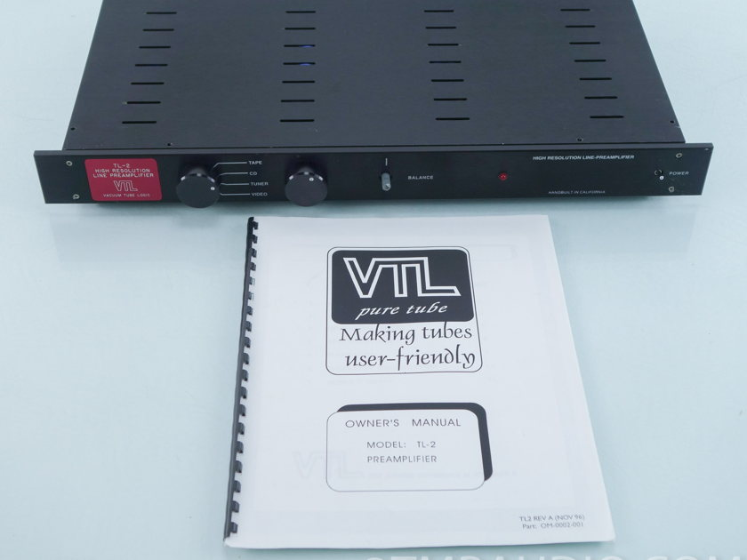 VTL TL-2 Stereo Tube Preamplifier (9559)