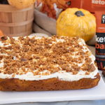 peanut butter pumpkin spice cake