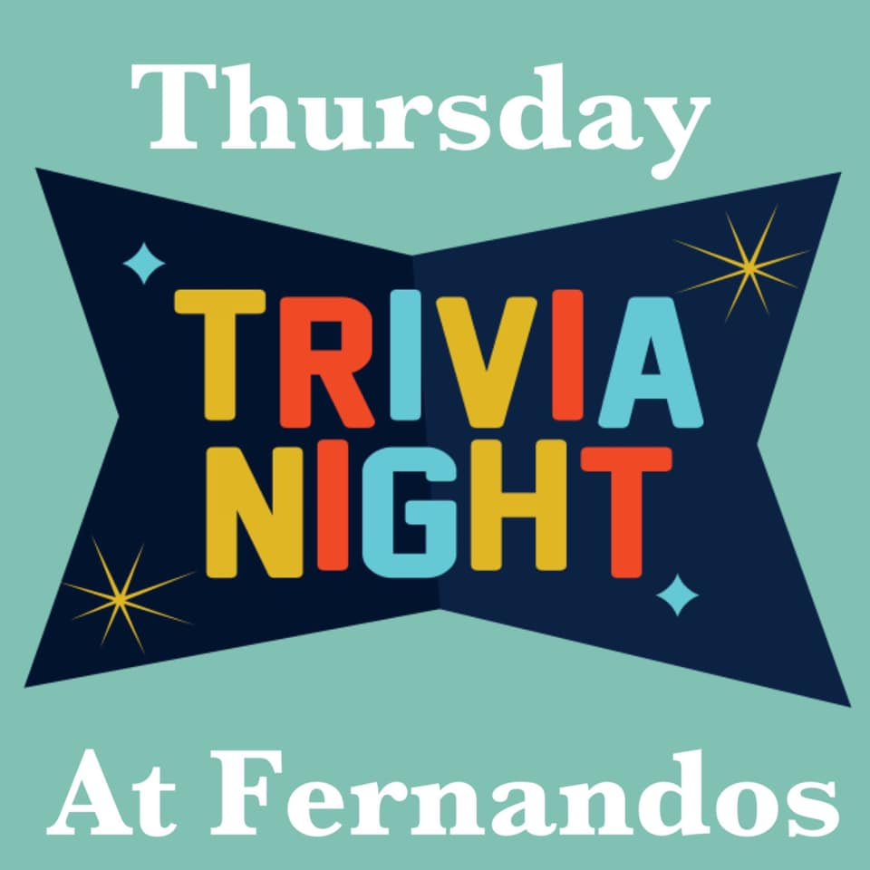 Picture of Join us for Trivia every Thursday at Fernando's Bar and Grill in Blair