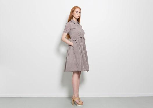 Платье Jurate beige (хлопок)