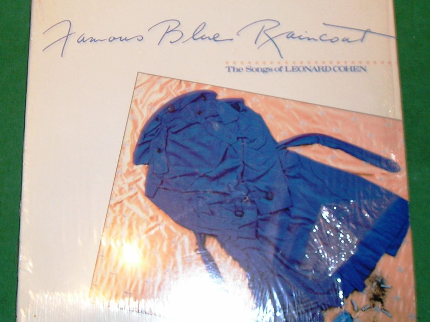"JENNIFER WARNES  ""FAMOUS BLUE..."" - RARE 1986 CYPRESS PINK LABEL * EXCELLENT 9/10 *"