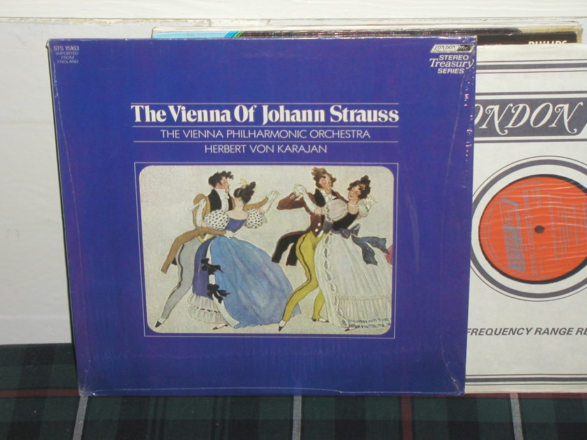 Von Karajan/VPO - Vienna of Strauss London/Decca sts 15163