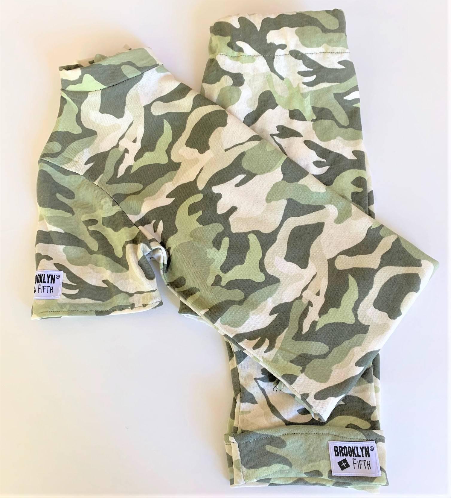 Brooklyn + Fifth camo shorts camo tees camo shorts and tee shirts camo harem pants camo  leggings elastic waistband comfy pants boys camo pants boys toddlers infants lightweight