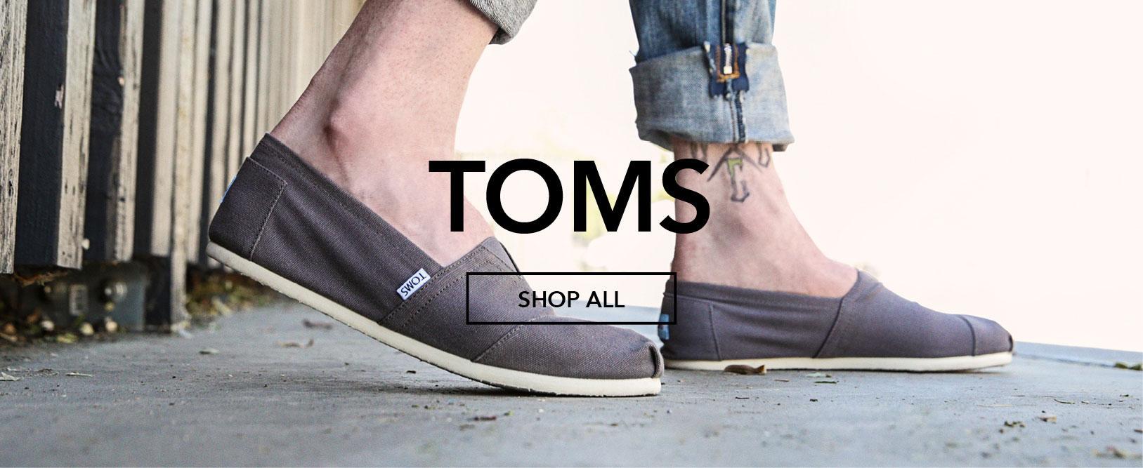 All Toms | Tiltedsole.com