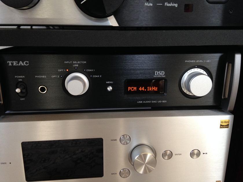 Teac UD-501  Dual Monoaural DAC w/ USB Streaming
