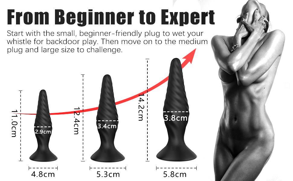 Sohimi training butt plugs