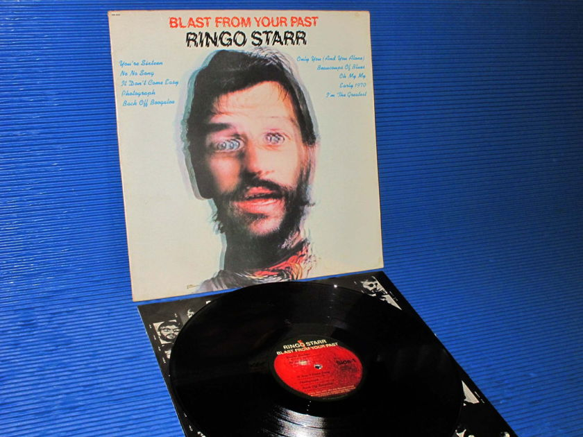 "RINGO STARR  - ""Blast From Your Past"" - Apple Records 1975 Original"