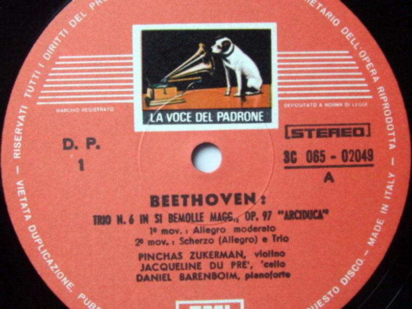 EMI HMV / DU PRE-ZUKERMAN-BARENBOIM, - Beethoven Archduke Trio, NM!