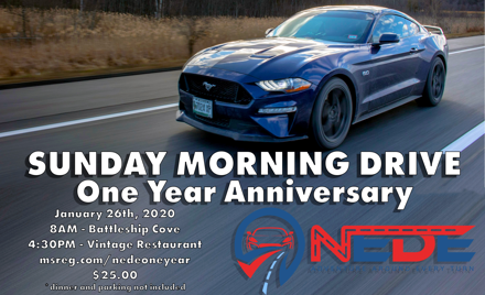NEDE One Year Anniversary Cruise