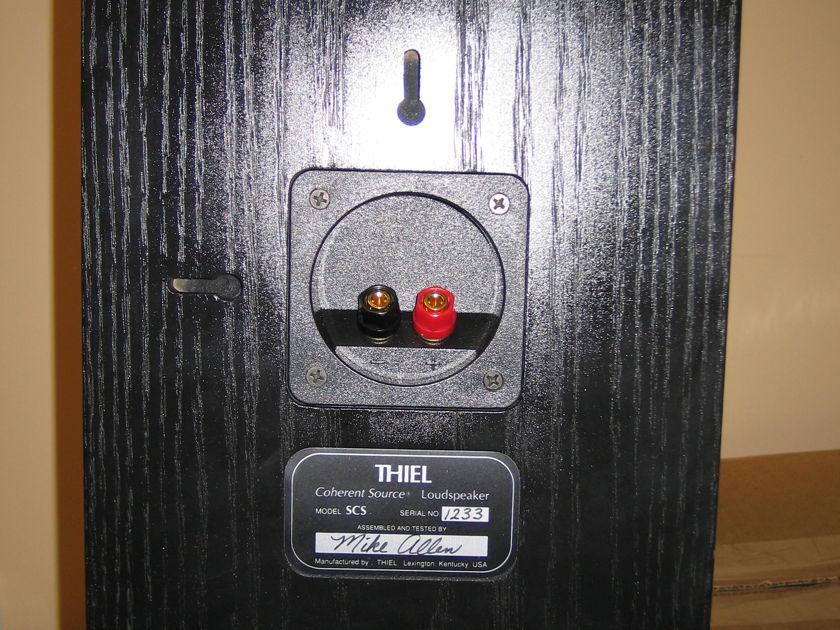 Theil  SCS  Black Book shelf--- one pair