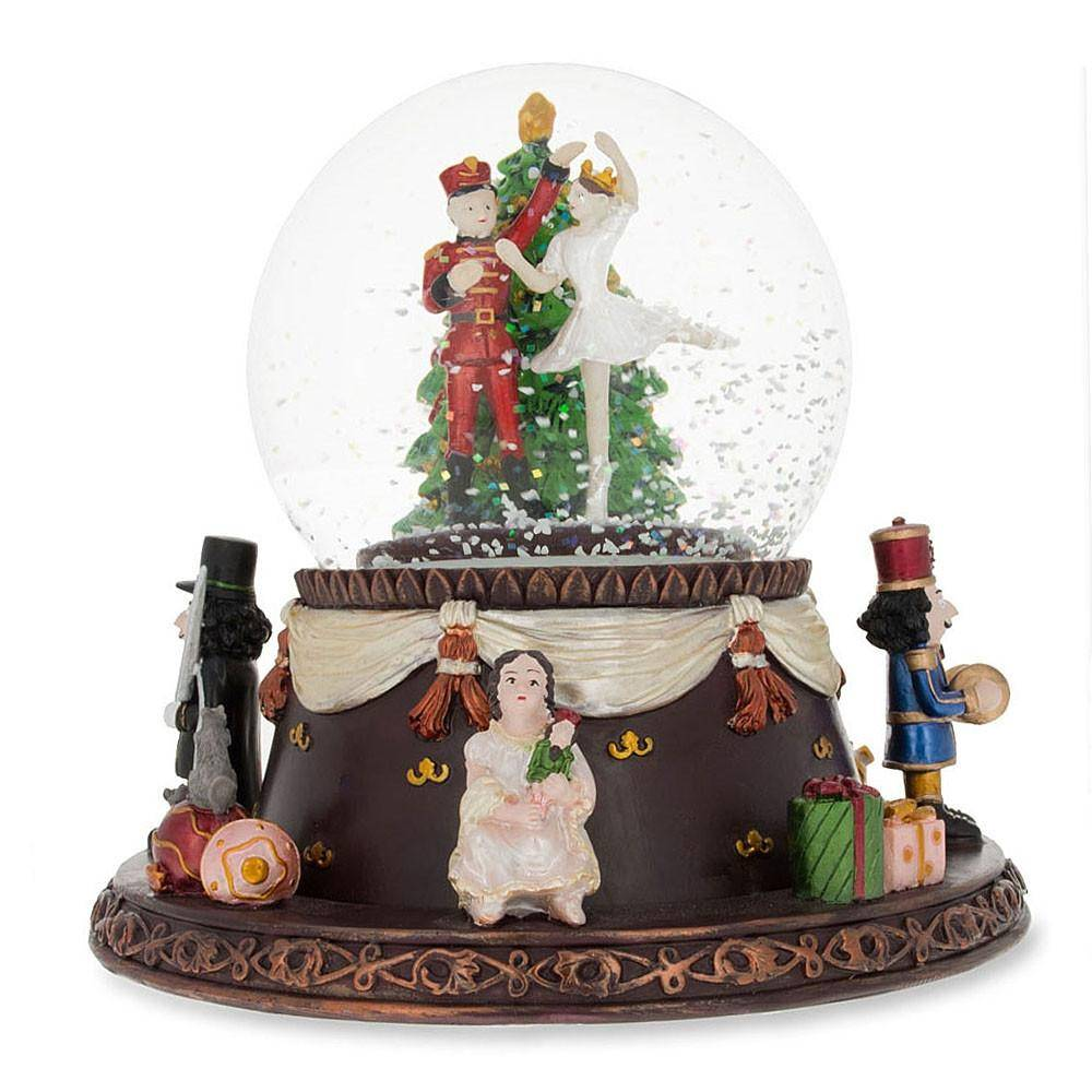 Nutcracker Snow Globes