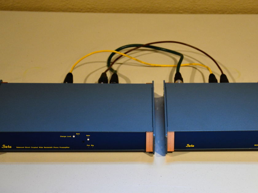 Seta Model L phono stage with RIAA module