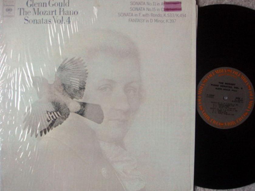 Columbia / GLENN GOULD, - Mozart Piano Sonatas No.11 & 15, MINT!