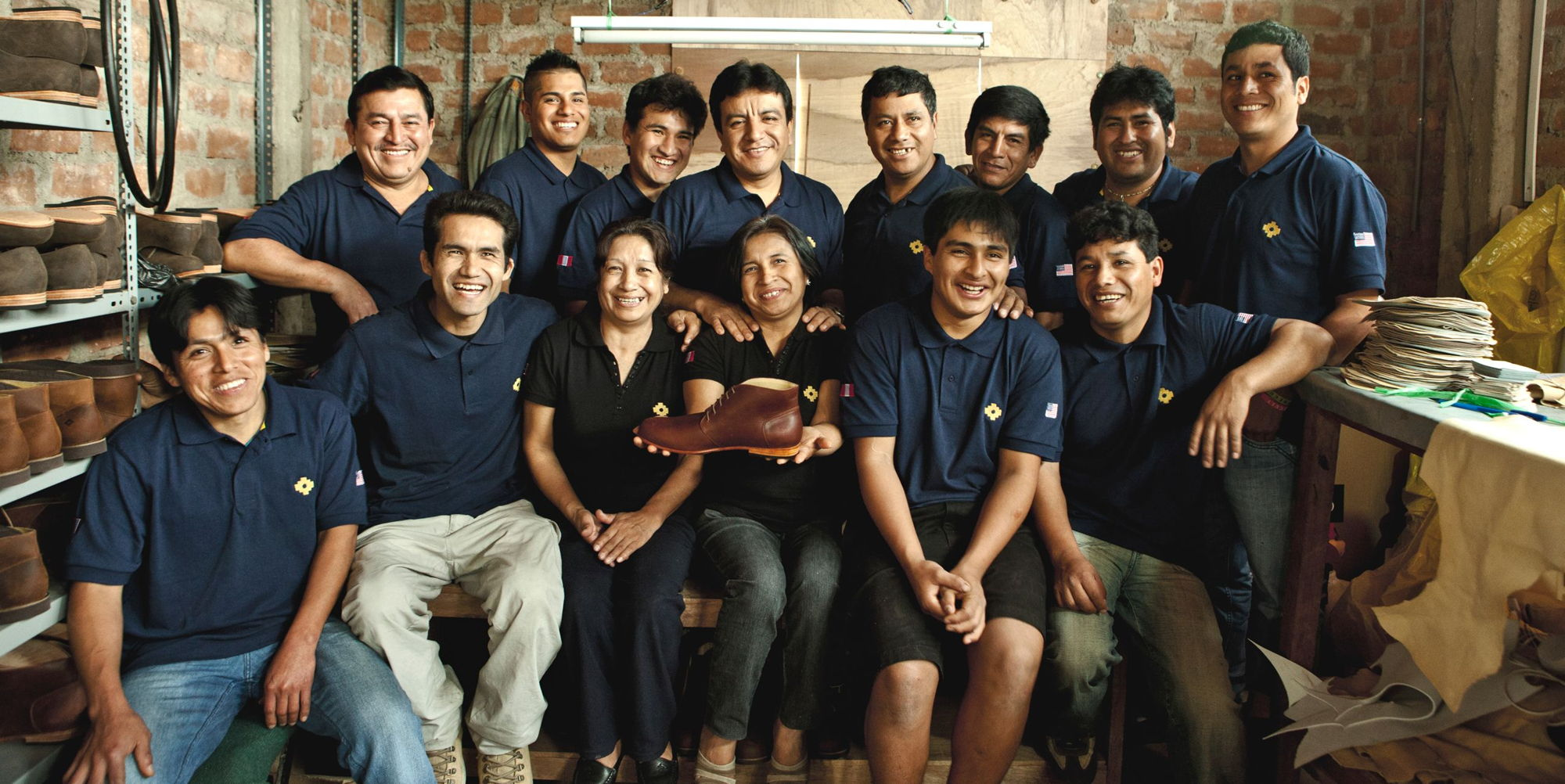 part of the Nisolo team in Peru