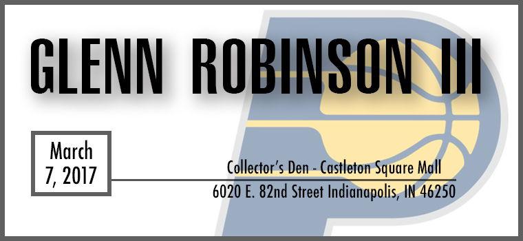 Glenn Robinson III Signing