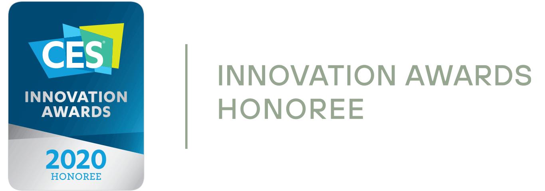 CES 2020 INNOVATION AWARDS HONOREE logo