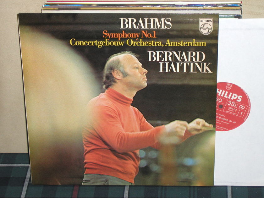 Haitink/COA - Brahms Sym.No.1 Philips Import LP 6500