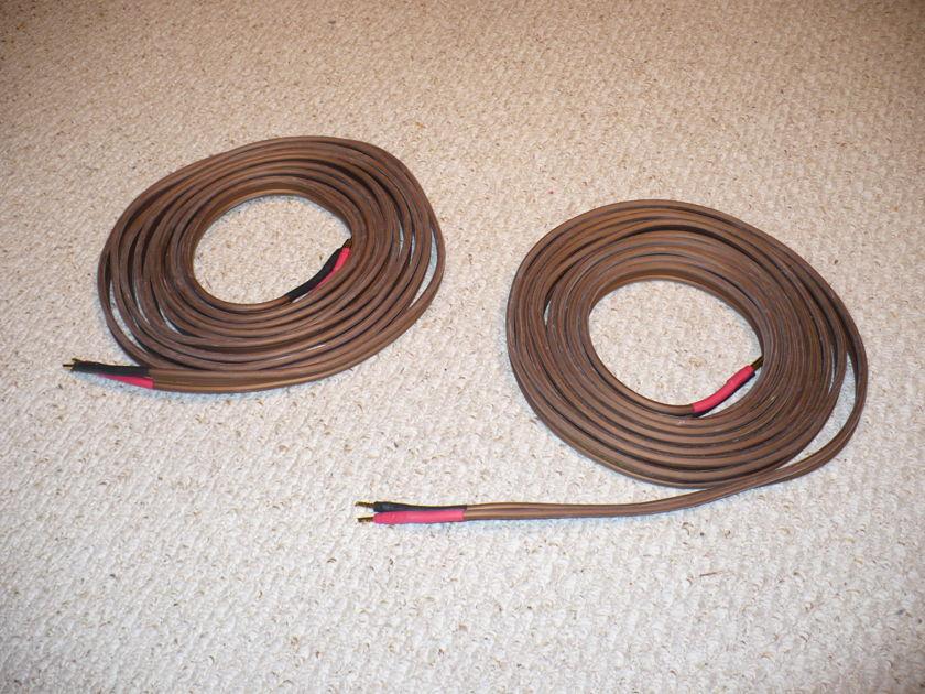 van den Hul  D352 Hybrid speaker cablee 25 foot pair w/bananas