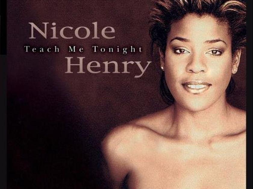 Nicole Henry with Eddie Higgins Trio - Teach Me Tonight Venus Recods