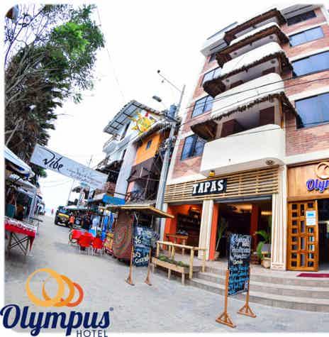 Venta Hotel Olympus en Montañita