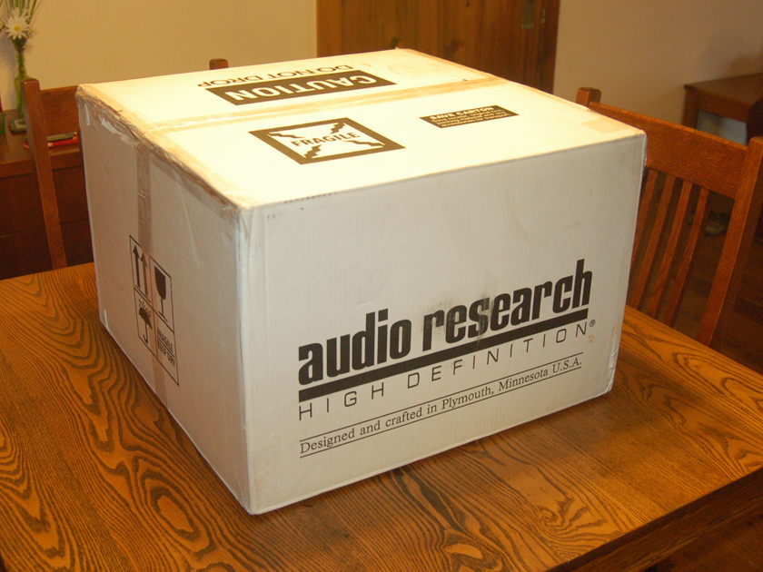 Audio Research LS-25 Remote Tube Preamp Silver new tubes! Clean!