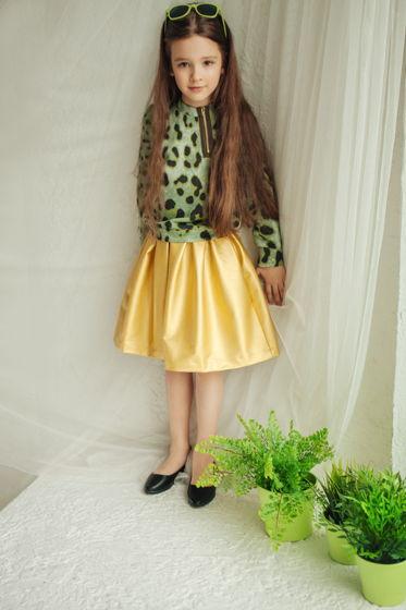 """Комплект """"Gold"""": свитшот+юбка"""