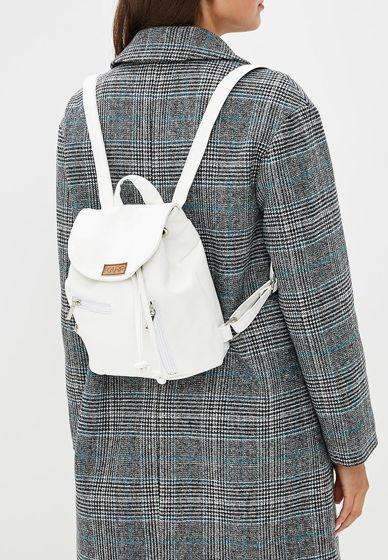 Мини-рюкзак из экокожи белый Mini rock