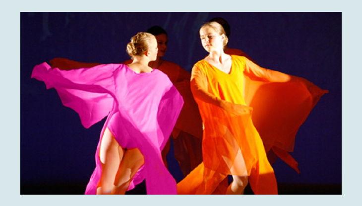 tanzetage tanzende frau
