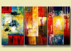 Split, Multi Panel Paintings