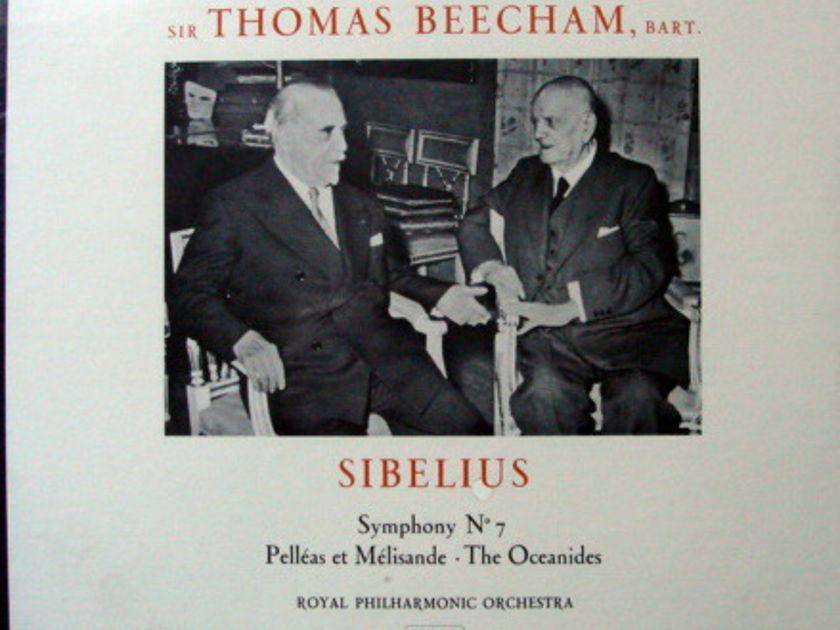 ★Sealed★ EMI Angel / BEECHAM,  - Sibelius Symphony No.7, Pelleas et Melisande!