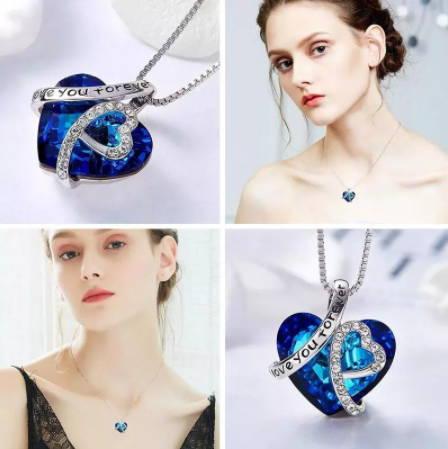 Butterfly choker necklace for women
