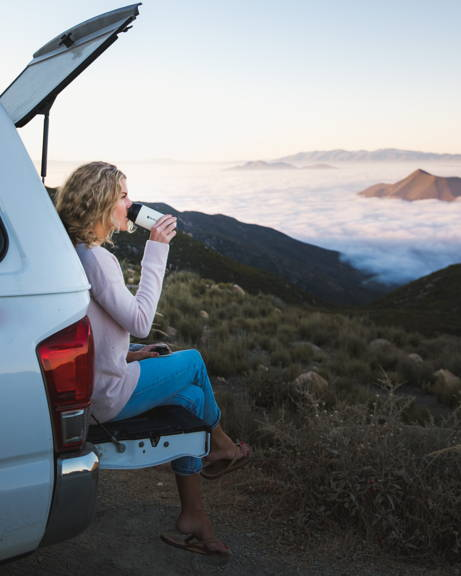 Cream Travel Mug for Coffee