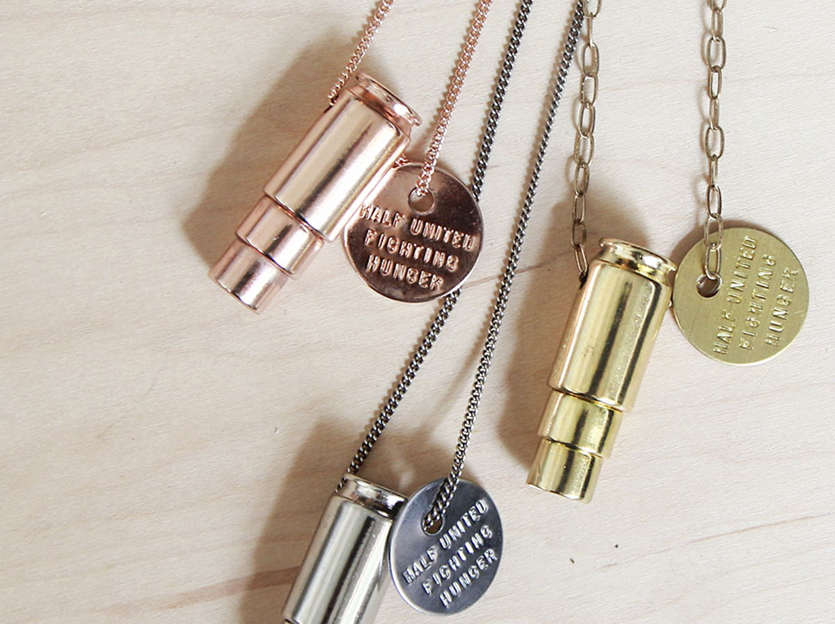 HALF UNITED Bullet Necklace
