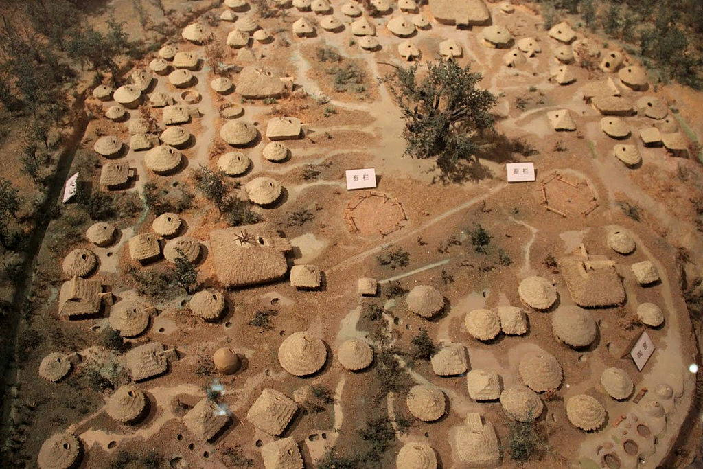 Model of the Yanshao culture site in Henan